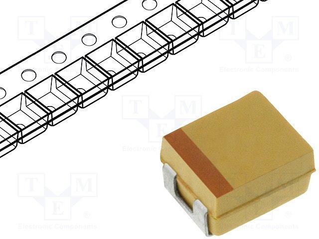 Конденсаторы танталовые SMD,AVX,TPSB685K016R1200