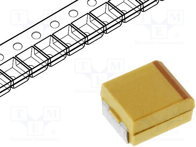 Конденсаторы танталовые SMD,KEMET,T491B226M010AT
