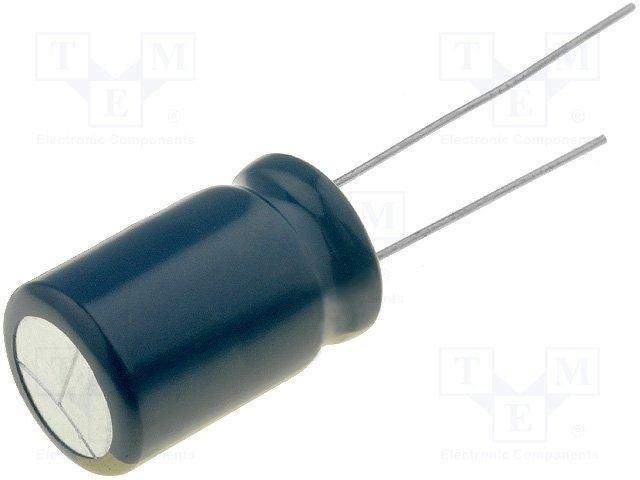 Конденсаторы электр. THT низкоимпендан.,PANASONIC,EEUFC1H222