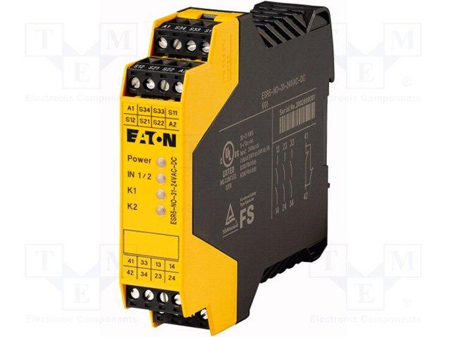 Предохран. выключат. - модули управления,EATON ELECTRIC,ESR5-NO-31-24VAC-DC