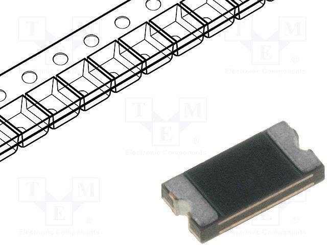 Предохранители полимерные SMD,LITTELFUSE,1206L016WR