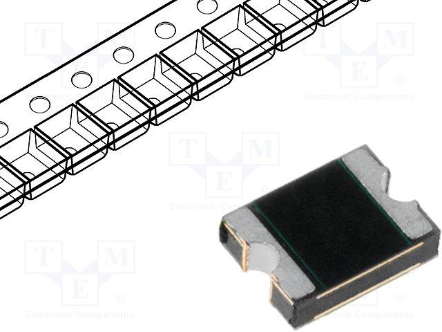 Предохранители полимерные SMD,LITTELFUSE,1210L020WR