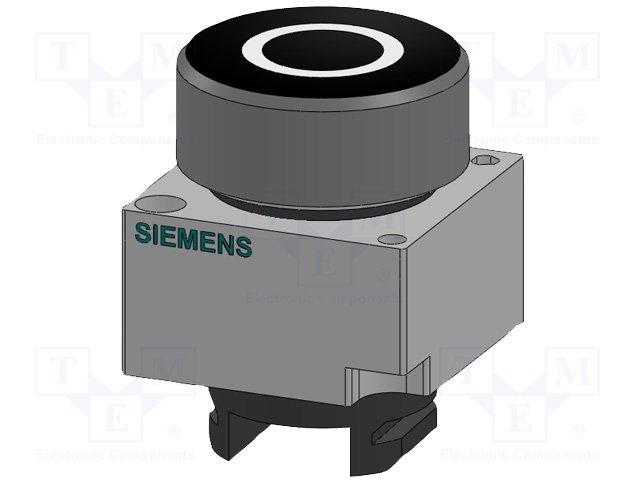 Переключатели панельные стандартные 22мм,SIEMENS,3SB3500-0AB21