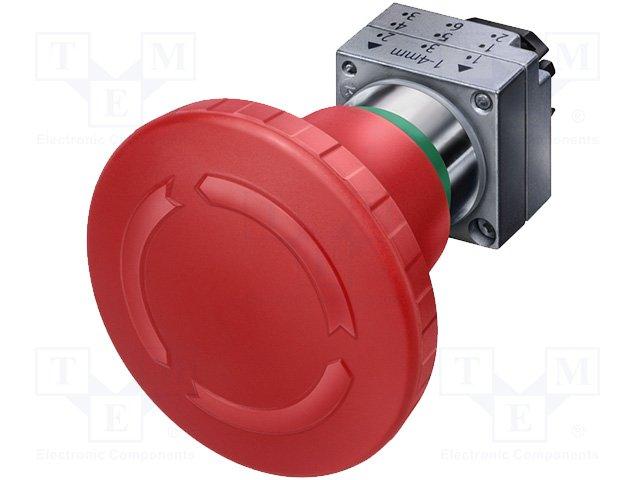 Переключатели панельные стандартные 22мм,SIEMENS,3SB3500-1AA20
