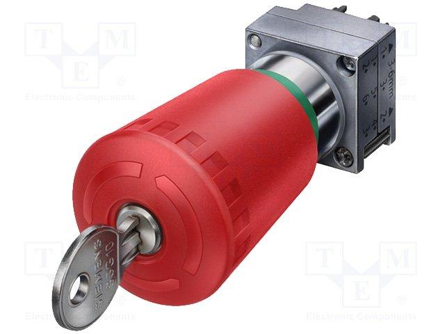 Переключатели панельные стандартные 22мм,SIEMENS,3SB3500-1KA20