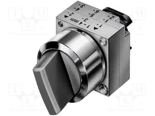 Переключатели панельные стандартные 22мм,SIEMENS,3SB3501-2EA71