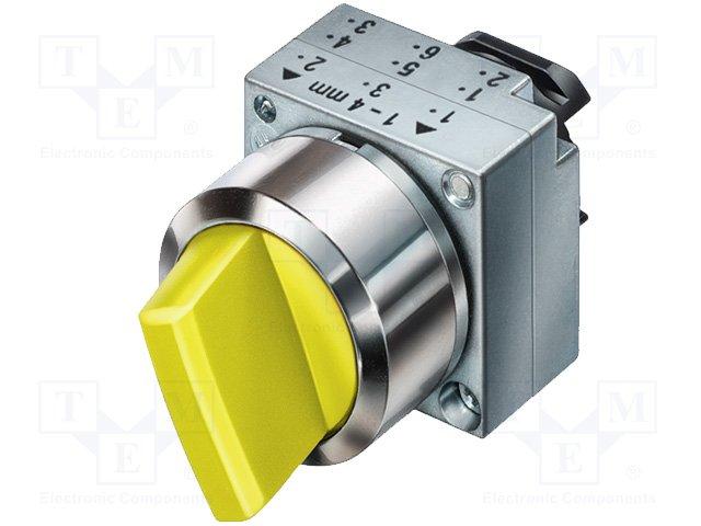 Переключатели панельные стандартные 22мм,SIEMENS,3SB3501-2KA31