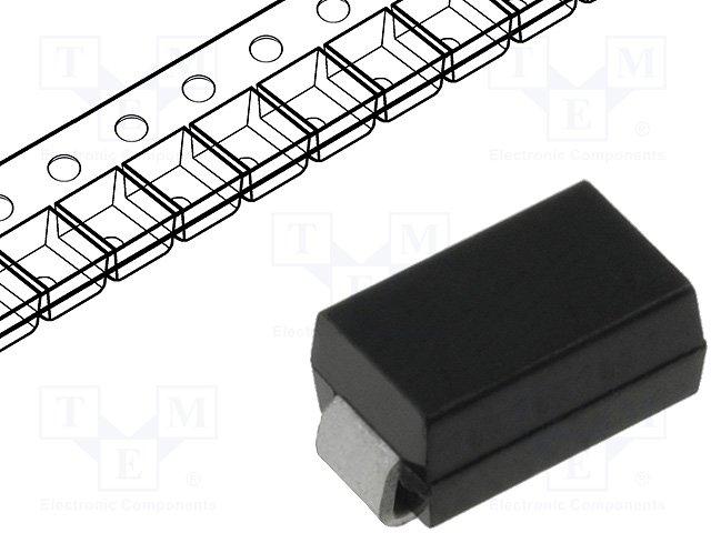 Диоды transil SMD однонаправленные,DIOTEC SEMICONDUCTOR,P4SMAJ36A