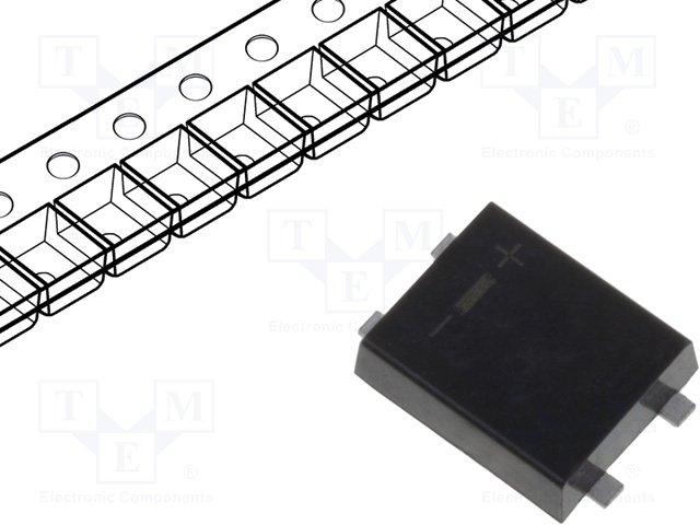 Однофазные мосты диодные SMD/THT,DC COMPONENTS,B05KF