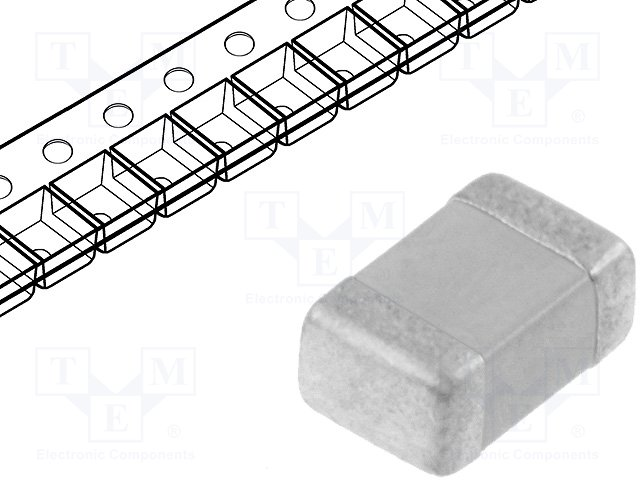 Конденсаторы MLCC SMD 0805,KEMET,C0805C150J5GAC