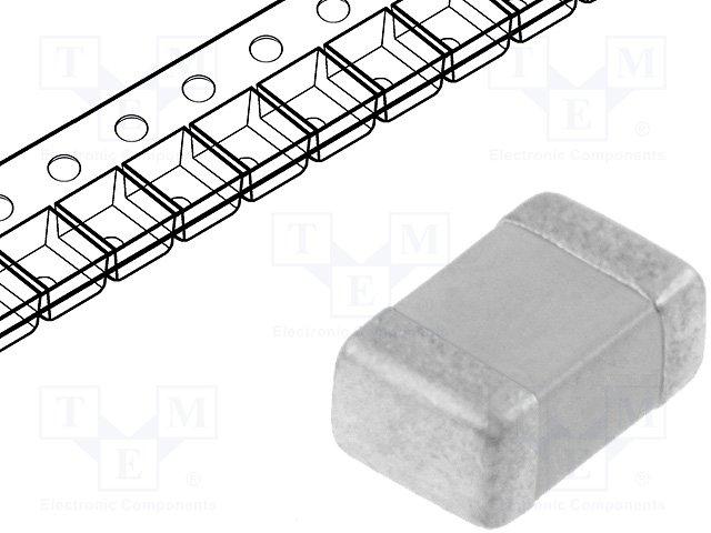 Конденсаторы MLCC SMD 0805,KEMET,C0805C105M4VAC