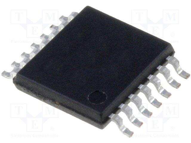 Логические схемы семейства CMOS,TEXAS INSTRUMENTS,CD4541BPW