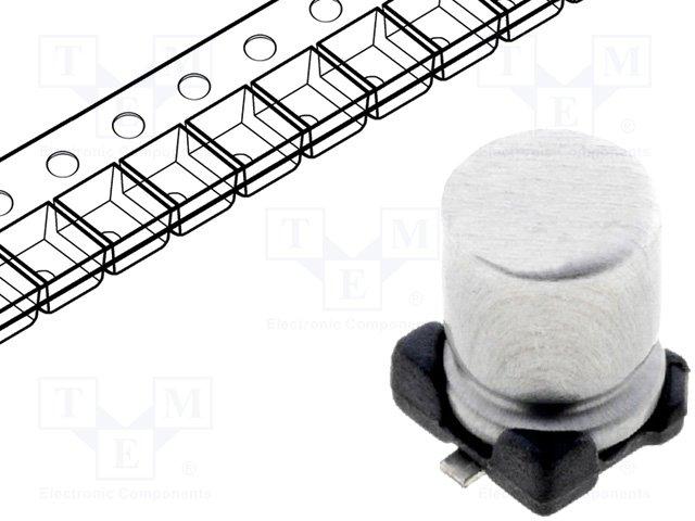 Конденсаторы электролитические SMD 85°C,CE100/25-SMD