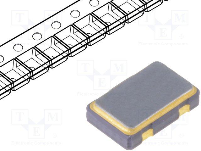 Кварцевые генераторы SMD,IQD FREQUENCY PRODUCTS,LFSPXO024589BULK