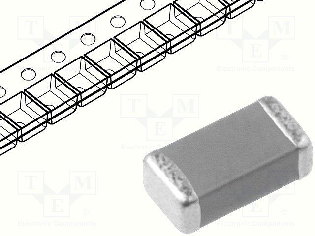Конденсаторы MLCC SMD 1206,YAGEO,CC1206KKX7R8BB225