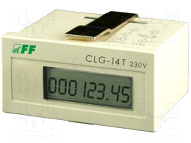 Счетчики рабочего времени,F&F,CLG-14T/230