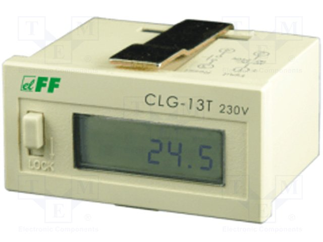 Счетчики рабочего времени,F&F,CLG-13T/24