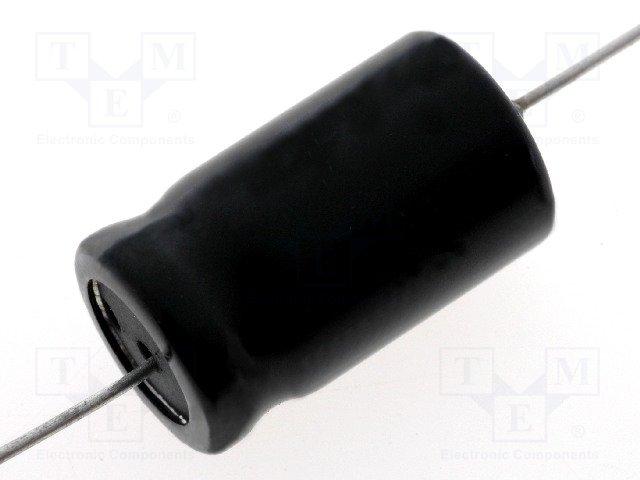 Конденсаторы электр. THT биполярные,CEB-3.3/100A