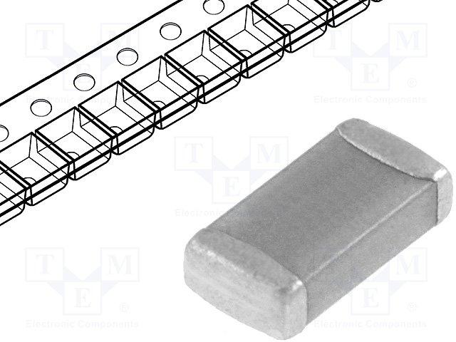 Конденсаторы MLCC SMD 1206,KEMET,C1206C102J5GAC