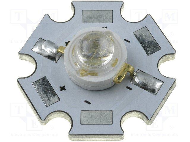 Colour power LEDS - Emiter,HUEY JANN ELECTRONIC,HPD8B-45K5R/WPCB