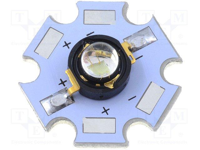 Colour power LEDS - Emiter,HUEY JANN ELECTRONIC,HPG8B-45K3RB/WPCB