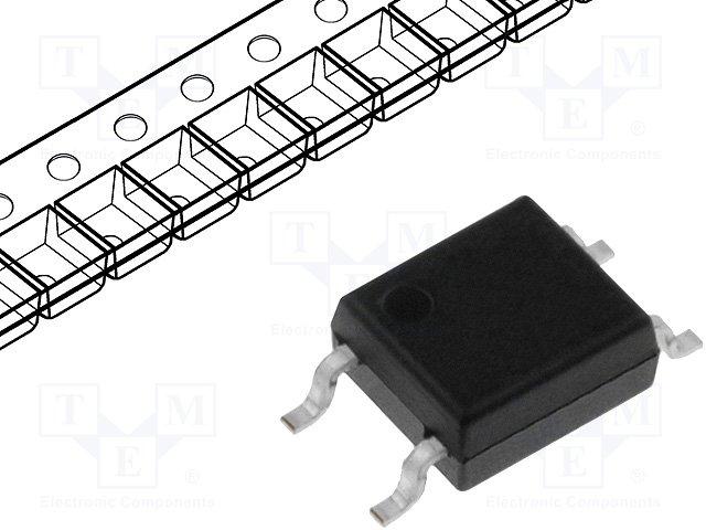 Оптроны транзисторный выход SMD,ISOCOM,IS357D