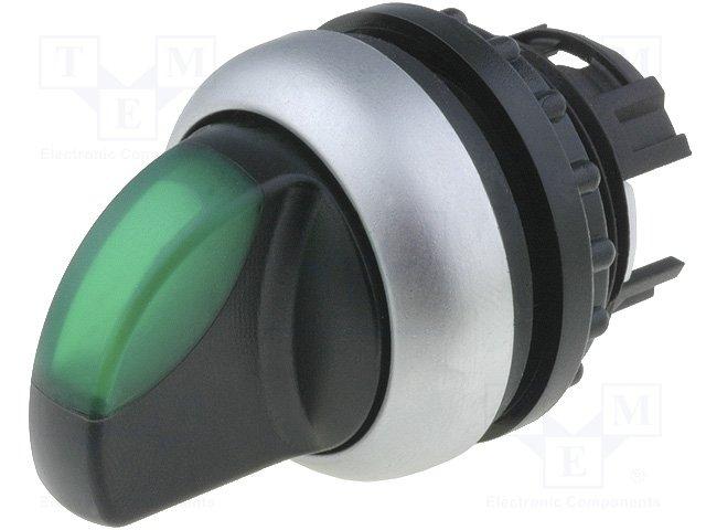 Переключатели панельные стандартные 22мм,EATON ELECTRIC,M22-WLK-G
