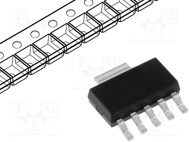 Стабилизаторы напряжения нерегулир. LDO,MICROCHIP TECHNOLOGY,MCP1824T-3302E/DC