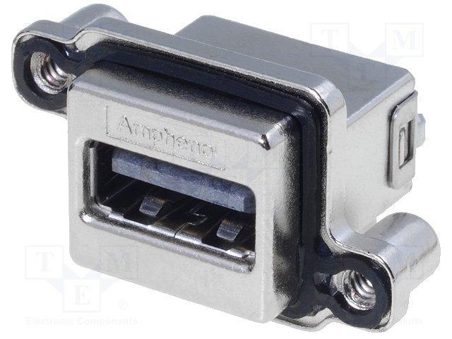 Разъeмы USB и IEEE1394,AMPHENOL,MUSBR-A511-M0