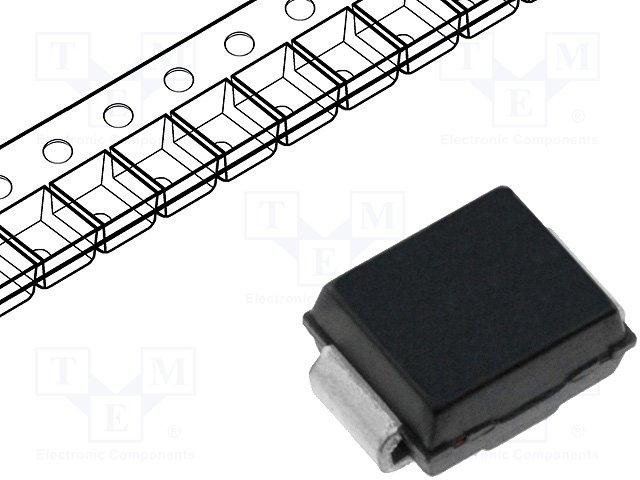 Диоды transil SMD двунаправленные,P6SMB36CA