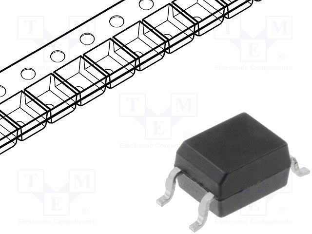 Оптроны транзисторный выход SMD,SHARP,PC357N6TJ00F