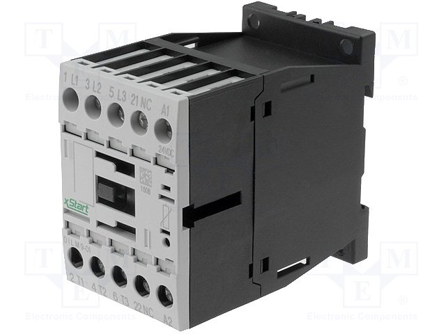 Контакторы - главные модули,EATON ELECTRIC,DILM7-10(24V50/60HZ)
