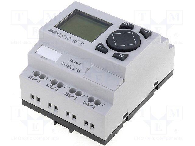 Реле прогр. основные модули,EATON ELECTRIC,EASY512-AC-R