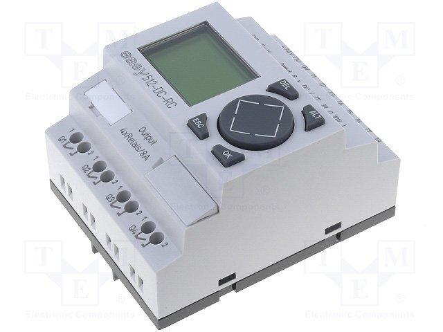 Реле прогр. основные модули,EATON ELECTRIC,EASY512-DC-RC