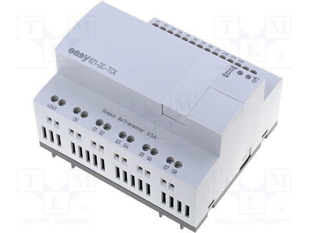 Реле прогр. основные модули,EATON ELECTRIC,EASY821-DC-TCX