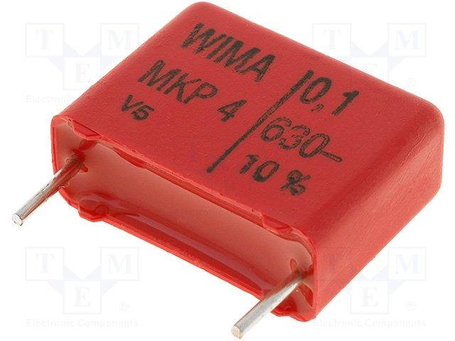 Конденсаторы полипропиленовые стандарт.,WIMA,MKP4J031004D00KSSD