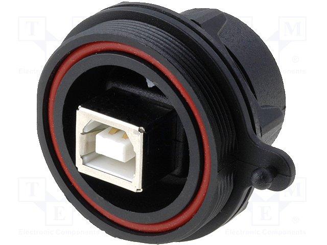 Разъeмы USB и IEEE1394,BULGIN,PX0842/B