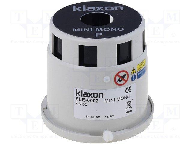 Сигнализаторы звуковые,KLAXON SIGNALS LTD,SLE-0002