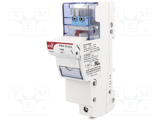 Предохранители - держатель под шину DIN,DF ELECTRIC,485320
