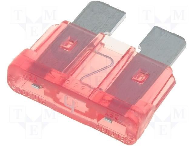 Предохранители автомобильные стандартные,LITTELFUSE,0287004.PXCN