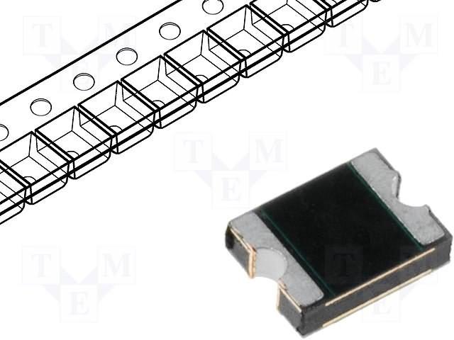 Предохранители полимерные SMD,LITTELFUSE,1210L010WR