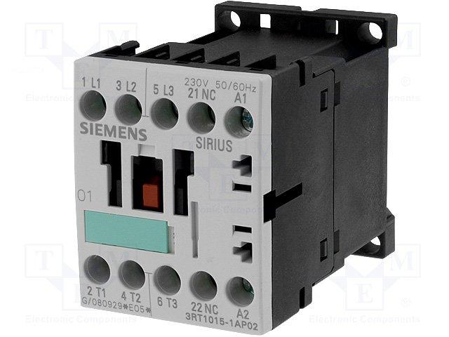Контакторы - главные модули,SIEMENS,3RT1015-1AP02