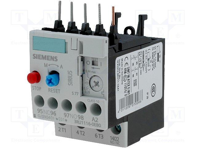 Контакторы - дополнительное оборудование,SIEMENS,3RU1116-0EB0