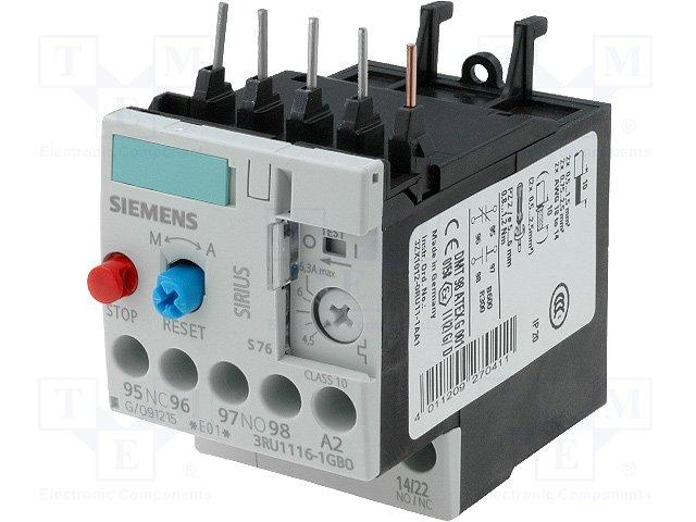 Контакторы - дополнительное оборудование,SIEMENS,3RU1116-1GB0