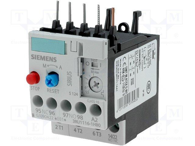 Контакторы - дополнительное оборудование,SIEMENS,3RU1116-1HB0
