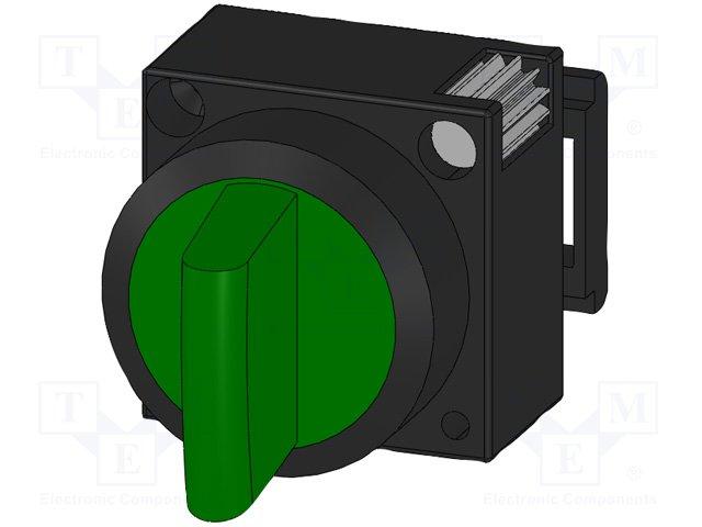 Переключатели панельные стандартные 22мм,SIEMENS,3SB3001-2LA41