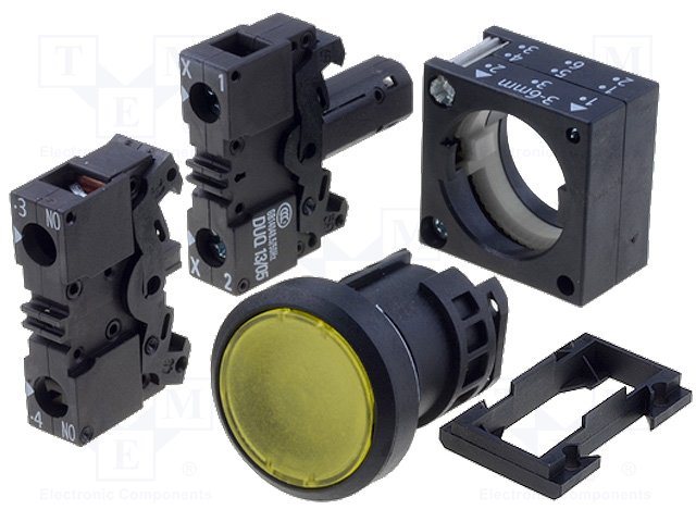 Переключатели панельные стандартные 22мм,SIEMENS,3SB3245-0AA31