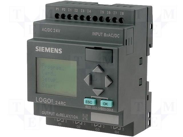 Реле прогр. основные модули,SIEMENS,6ED1052-1HB00-0BA6