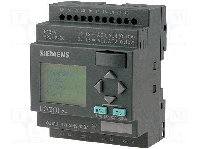 Реле прогр. основные модули,SIEMENS,6ED1052-1CC01-0BA6