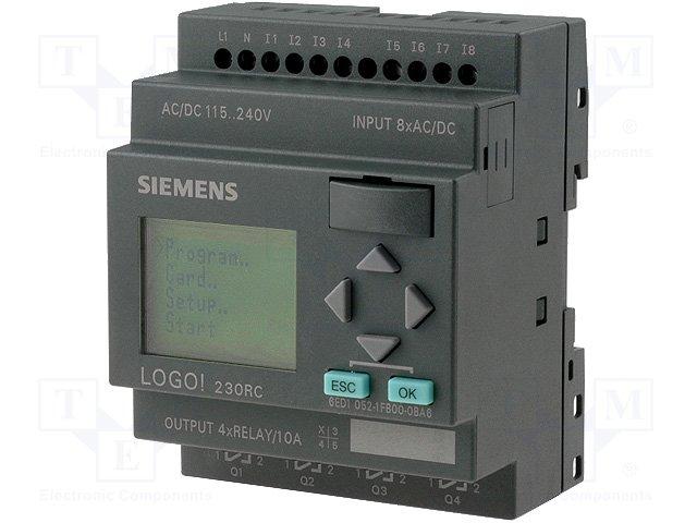 Реле прогр. основные модули,SIEMENS,6ED1052-1FB00-0BA6